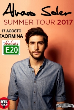 Alvaro Soler in Concerto Live a Taormina In Bus Sharing Partenza: Palermo - Villabate - Bagheria - T.Imerese - €.25.00 p.p.