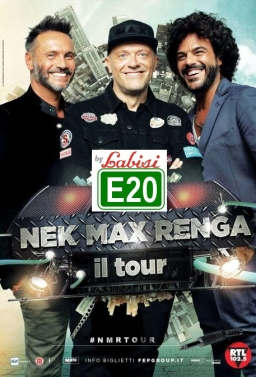 Nek Pezzali Renga in Concerto Live ad Acireale In Bus Sharing Partenza: Palermo - Villabate - Bagheria - T.Imerese - €.25.00