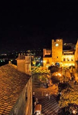 BUS X TAORMINA BY NIGHT €. 25,00 A/R + P p.p. IN BUS SHARING DA PALERMO ED OLTRE...