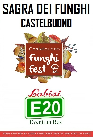 Castelbuono Street Food Fest €.10.00 in Bus Sharing Da Palermo Villabate Bagheria T.Imerese